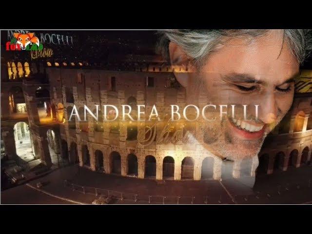 Andrea Bocelli concerto Colosseo Roma Youtube