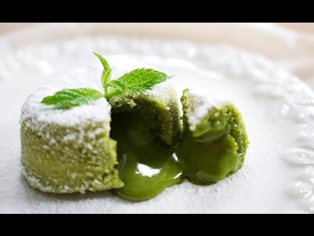 Resep: Matcha (Green Tea) Molten Lava Cake Recipe