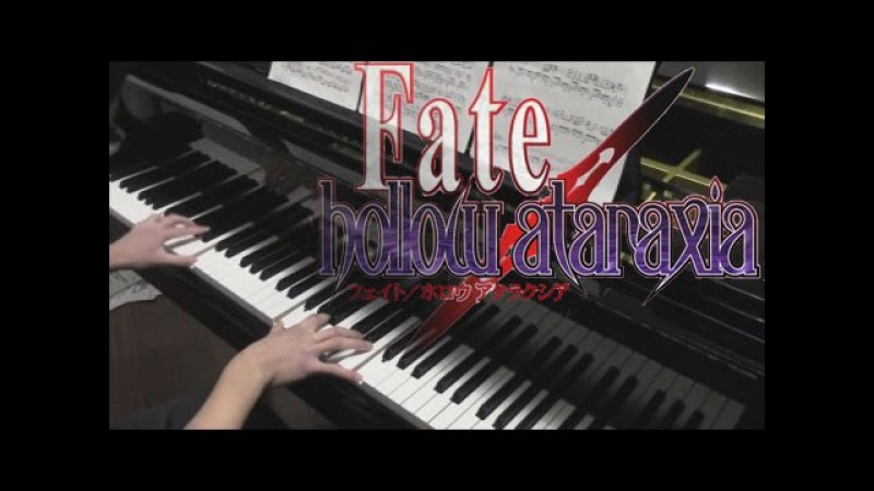 [1K Sub Special] Fate/Hollow Ataraxia OP Medley (Aimer) Piano Cover Sheets