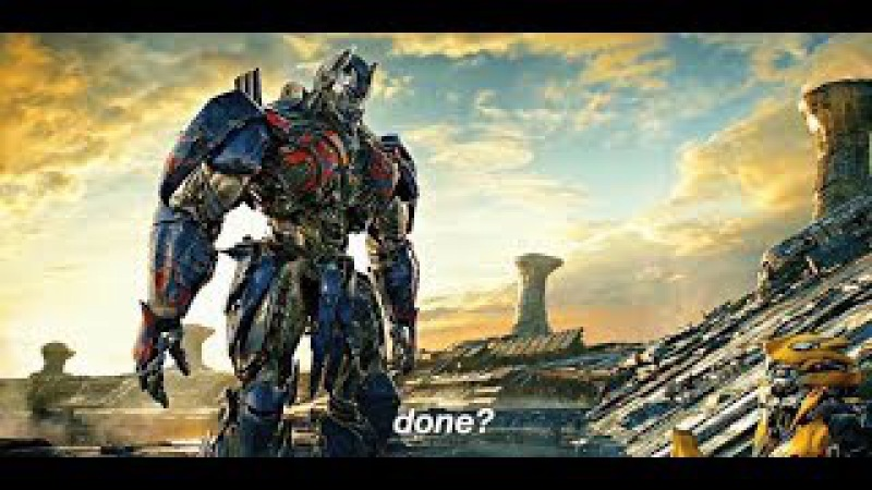 Transformers: The Last Knight - Optimus Prime vs Bumblebee