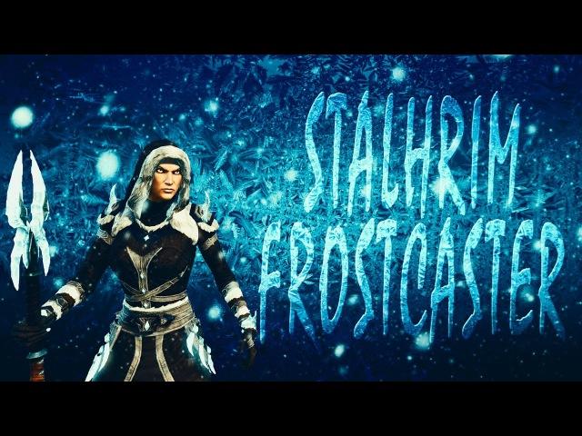 ESO Stalhrim Frostcaster Motif-ArmorWeapon Showcase-Stalhrim Frostcaster Style-Elder Scrolls Online