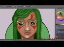 Про обзоры скетчбуков Покрас №1 В процессе рисования speedpaint