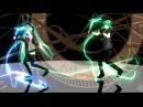 Аниме танец вокалоидов