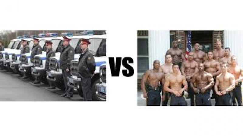 Российская Полиция Vs Копы Сша