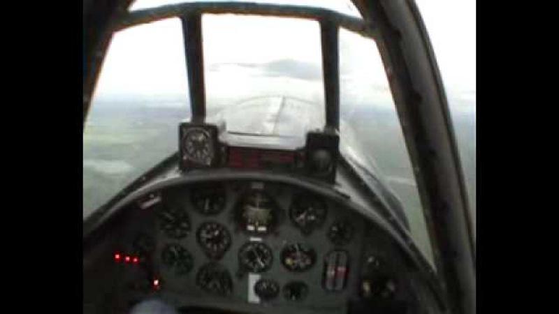 высший пилотаж на ЯК-52 глазами пилота.avi