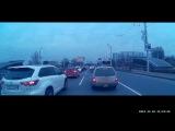 25.12.2017. Обидчивый нарушитель. Алматы. Абая / Тлендиева. Аварийная ситуация