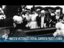 Queen Victoria Arrives at a Royal Garden Party (1898) | British Pathé