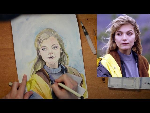ACMP на русском тихий голос рисование Drawing Laura Palmer