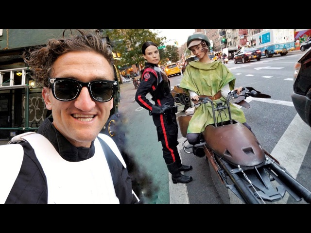 STAR WARS SPEEDERS IN NYC making of!!