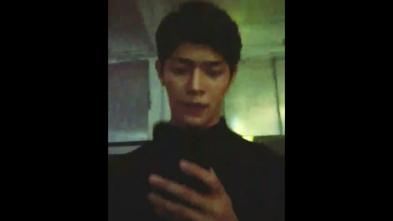 Gxxod is busy checking messages from his bae but when he realized his manager is capturing him he tried to do...