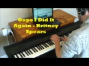 Oops! I Did It Again - Britney Spears piano cover