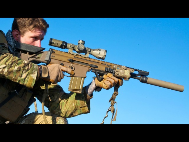 International Snipers Engage Targets with Ultra Powerful Rifles: L115a3, SCAR-H PR, M40a6, M110...