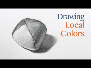 How to draw local colors and values with graphite pencils