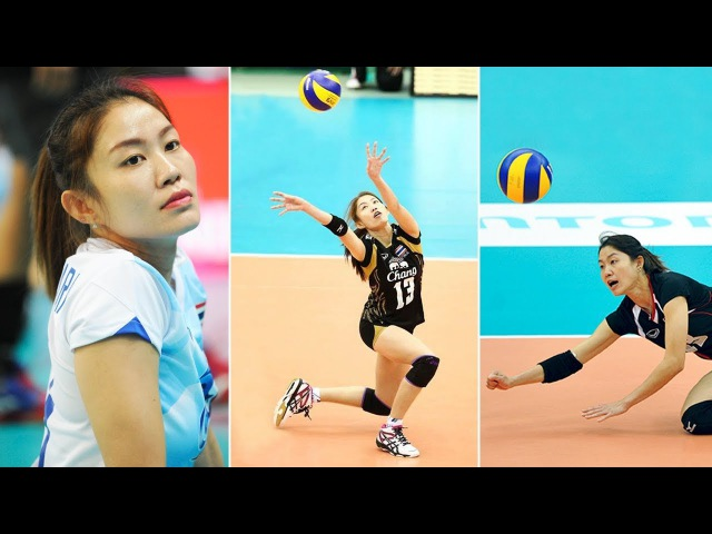 Best Volleyball Actions by NOOTSARA TOMKOM นุศรา ต้อมคำ Best SETTER World Grand Prix 2017
