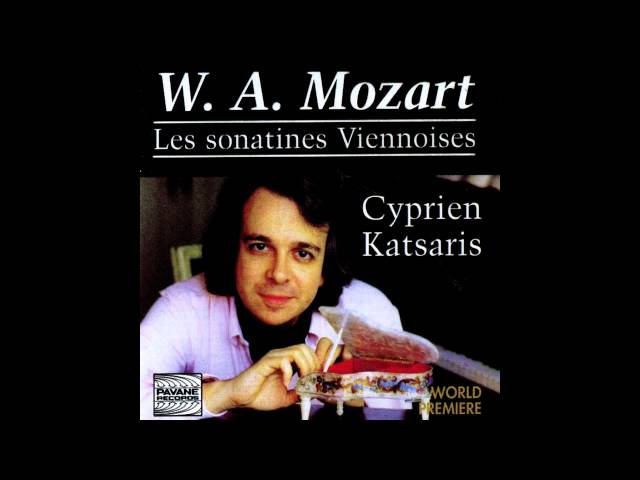 Cyprien Katsaris - Viennese Sonatina No. 6 in C Major: I. Allegro con brio