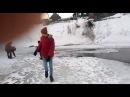 Подростки спасли провалившегося под лёд ребёнка в Томске