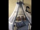 Комплект в кроватку МиМиМишка ТЕДДИ