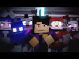 """""""Nightmare by Design"""" ¦ FNAF Minecraft Music Video ¦ 3A Display (Song by TryHardNinja)"""