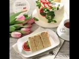 Торт с кремчизом Для милых дам