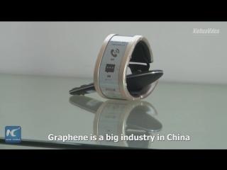 Гибкий смартфон-браслет из графена представили в Поднебесной
