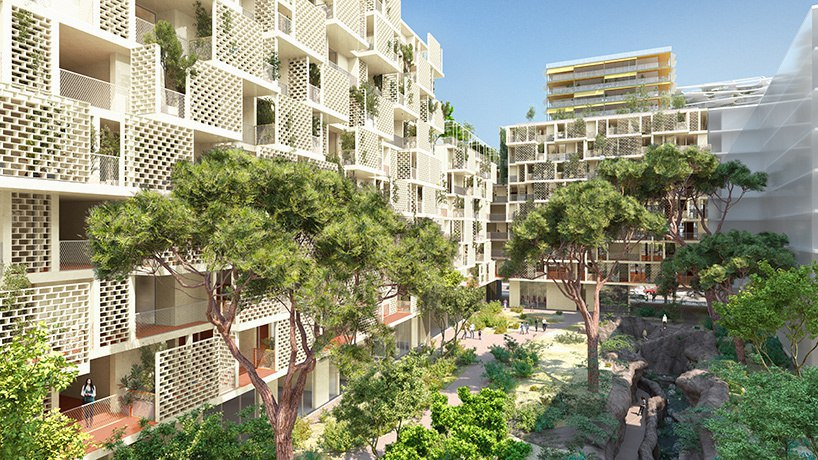 Sou Fujimoto   Laisné Roussel design buildings for nice as part of Lambert Lénack-led plans