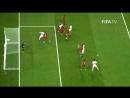 Самые красивые моменты игры Чили - Португалия