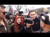 Рига 16 марта, 2016 Задержание Грэма на марше Ваффен СС