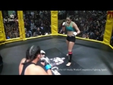 Maritza Sanchez vs. Nikole Meath - KNOCKOUT - (The Titans Cage 14) - (2016.10.29) - -r-WMMA