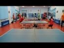 30.12.2017 В зале ДЮСШ Авиатор прошёл открытый Новогодний Турнир по настольному теннису.
