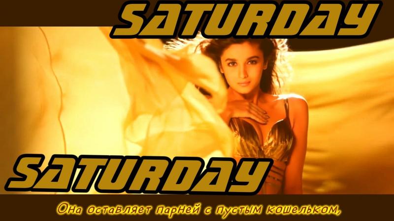 Saturday Saturday Video - Humpty Sharma Ki Dulhania ¦ Varun Alia (рус.суб.)