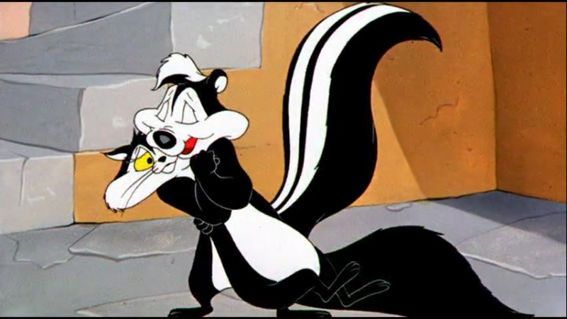 Pepe' Le Pew - The Cats Bah (1954)