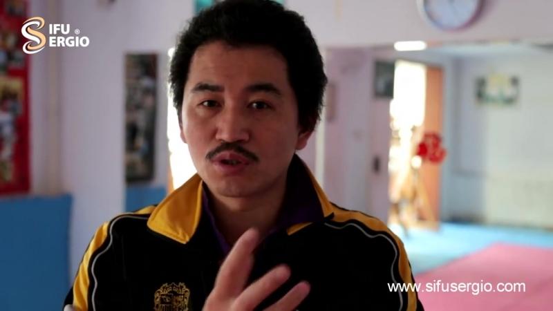 Sifu Sergio presents Sifu Wang Zhi Peng Ving Tsun, throwing techniques