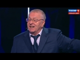 Жириновский и Собчак - быдлодебаты кандидатов в президенты