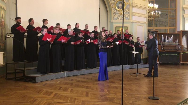 Юбилейный концерт хоря Заиконоспасского монастыря «Благозвонница»