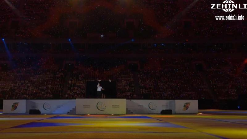 Mustafa Sandal - Aziada 2017 ýapylyş dabarysndaky konsert