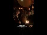 19/20 ноября 2017; Лос-Анджелес, США: Лана на вечеринке по случаю Дня рождения Чак Грант