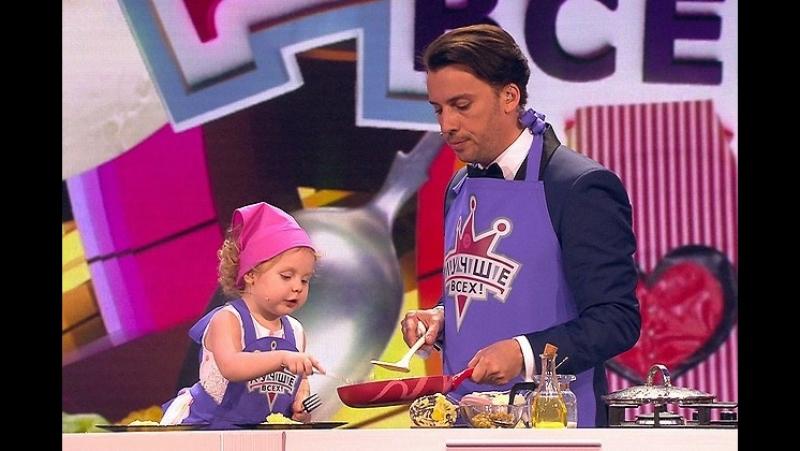 Самый маленький поварёнок страны @povarenokpolina приняла участие в мастер классе по изготовлению бургеров