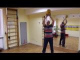 Простейшие упражнения с гирей на все группы мышц