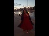 Танцую в центре города, вместе с танцующим и поющим фонтаном! крутооо! Ведущая Регина Магасумова!