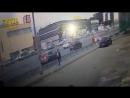 Авария при съезде с Минского шоссе на МКАД