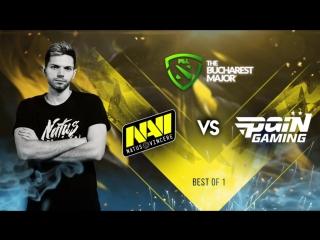NAVI vs paiN @The Bucharest Major