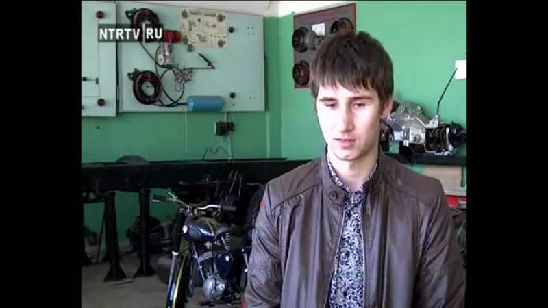 Студенты ГАПОУ Нижнекамский агропромышленный колледж восстановили мотоцикл