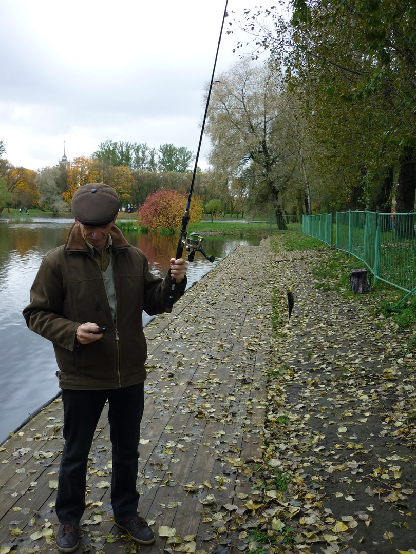 Team of Fishing Actions: Жадный городской ротан.