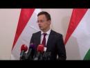 Будапешт, 27 октября, 2017 .Magyarország nem tudja támogatni Ukrajna integrációs törekvéseit