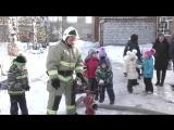 Дошкольники проконтролировали работу пожарной части в Нижней Туре