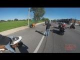 Stunt Bike Riding WHEELIES Catches On FIRE Motorcycle Stunts ROC 2016 Ride Of Th