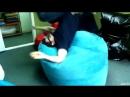 Игорь и 🍩 пончик! производство бескаркасной мебели МОЁ, креслогруша, кресломяч, пуф, кресло мешок