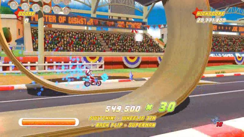 Joe Danger - 3 Level - 64,589,250 score
