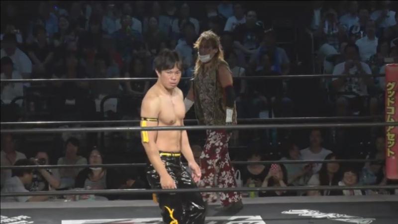 Daisuke Kiso vs. DJ Nira vs. KUDO (DDT - Beer Garden Fight 2017 ~ Shuten Doji DAY ~)