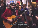 M matthieu chedid la seine un monstre a paris live concert surprise metro jaures paris
